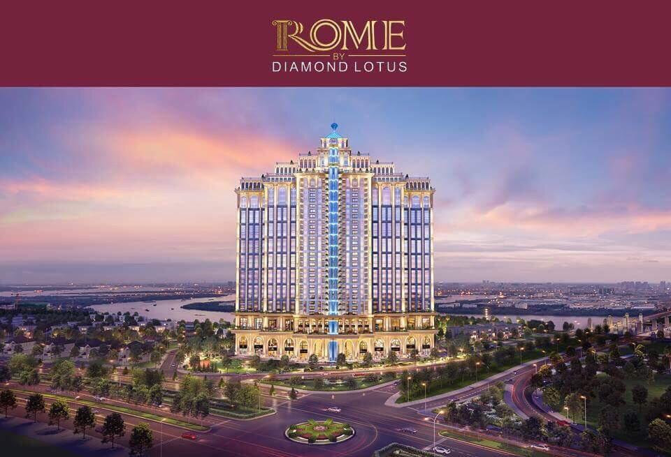rome diamond lotus phoi canh